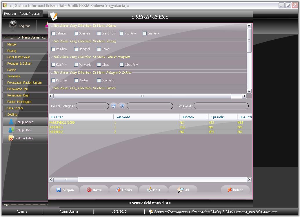 myremisal ver 1  free software rekam medik rumah sakit
